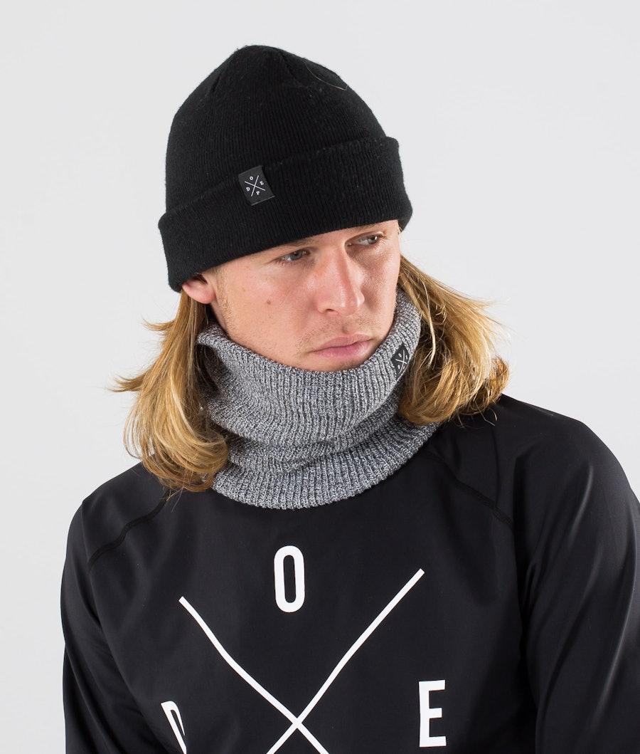 Dope 2X-UP Knitted Ansiktsmask Grey Melange