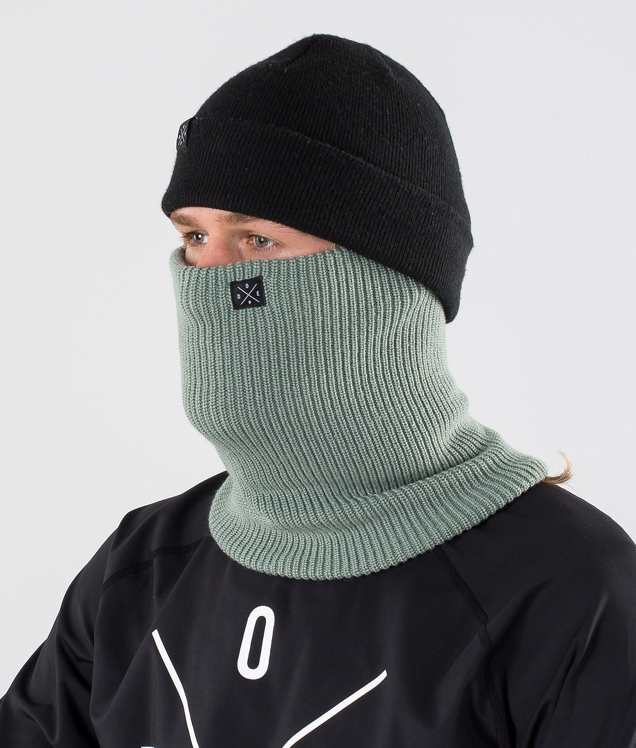 Dope 2X-UP Knitted Ansiktsmasker Faded Green