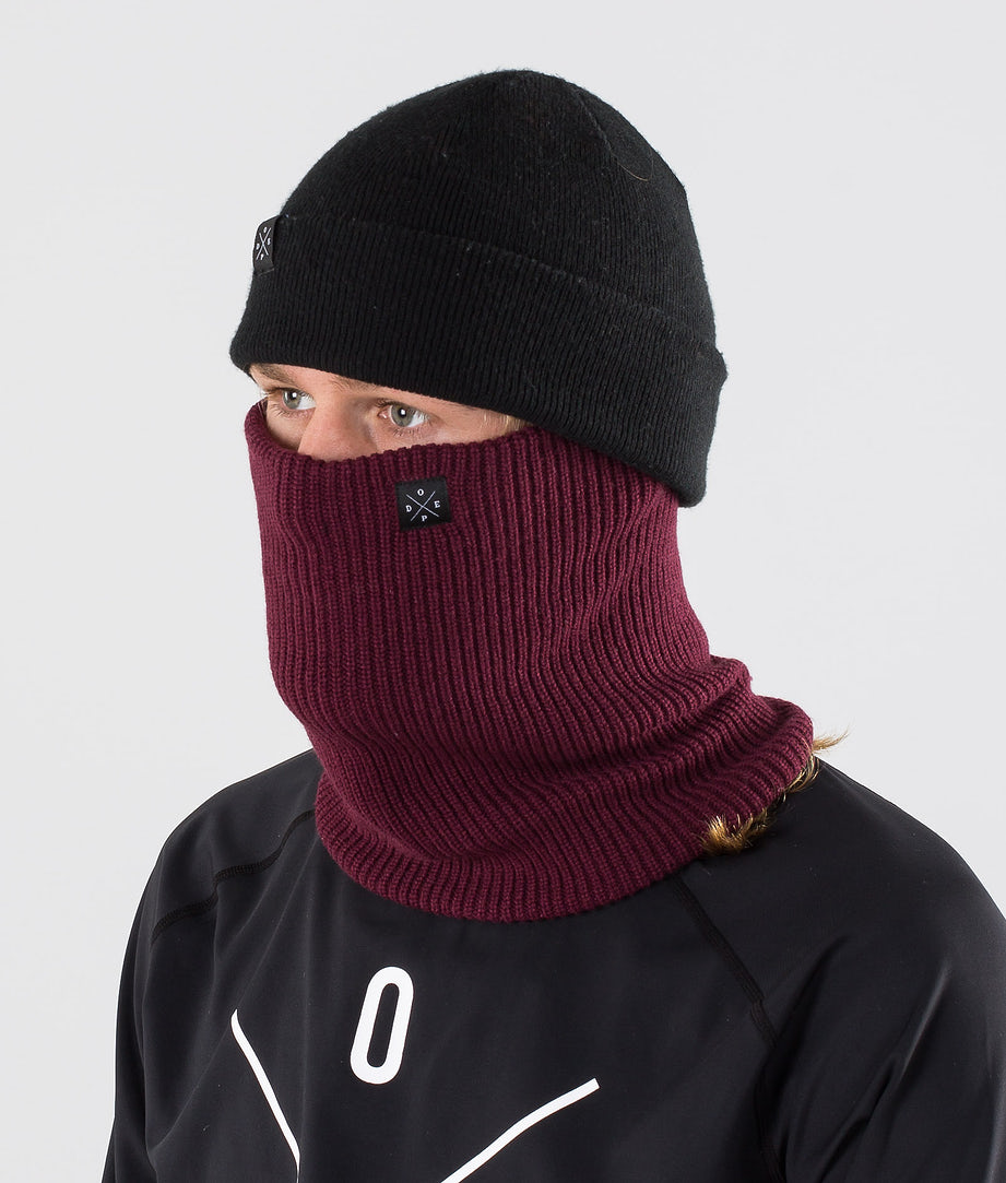 Dope 2X-UP Knitted Skimaske Burgundy