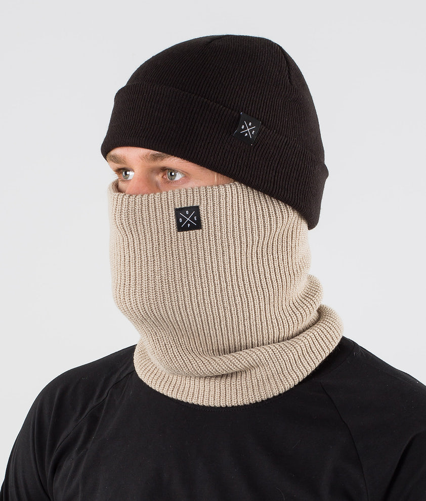Dope 2X-UP Knitted Ansiktsmask Sand
