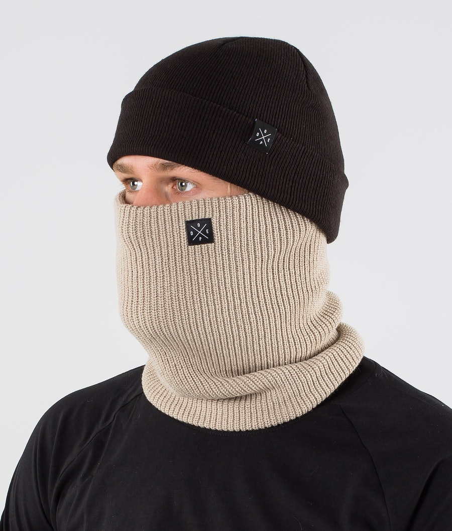 Dope 2X-UP Knitted Skimasker Sand