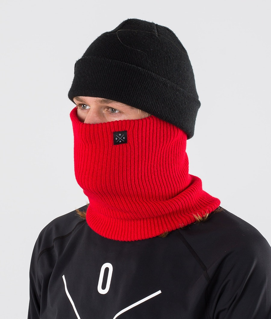 Dope 2X-UP Knitted Tour de cou Red