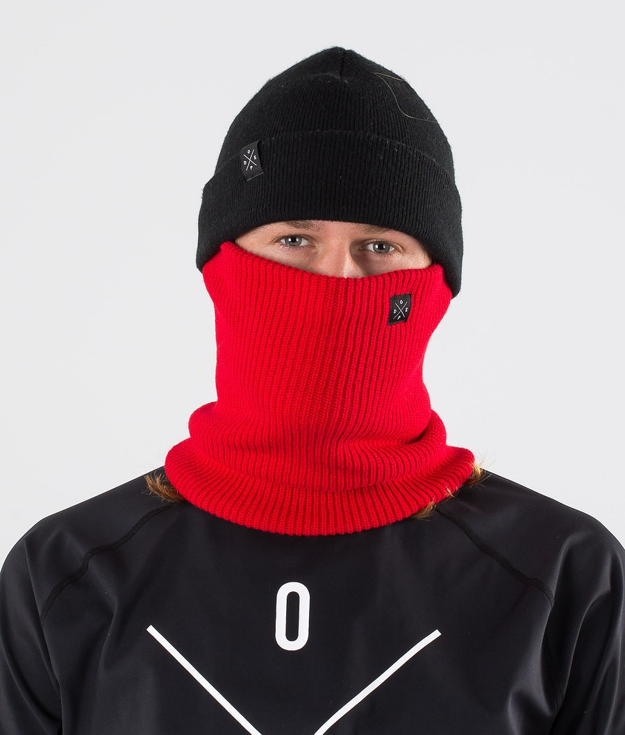 Dope 2X-UP Knitted Ansiktsmask Red