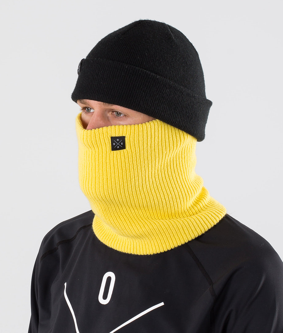 Dope 2X-UP Knitted Facemask Yellow