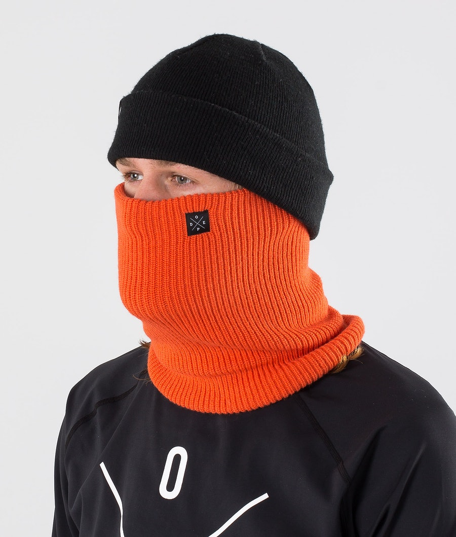Dope 2X-UP Knitted Skimasker Orange