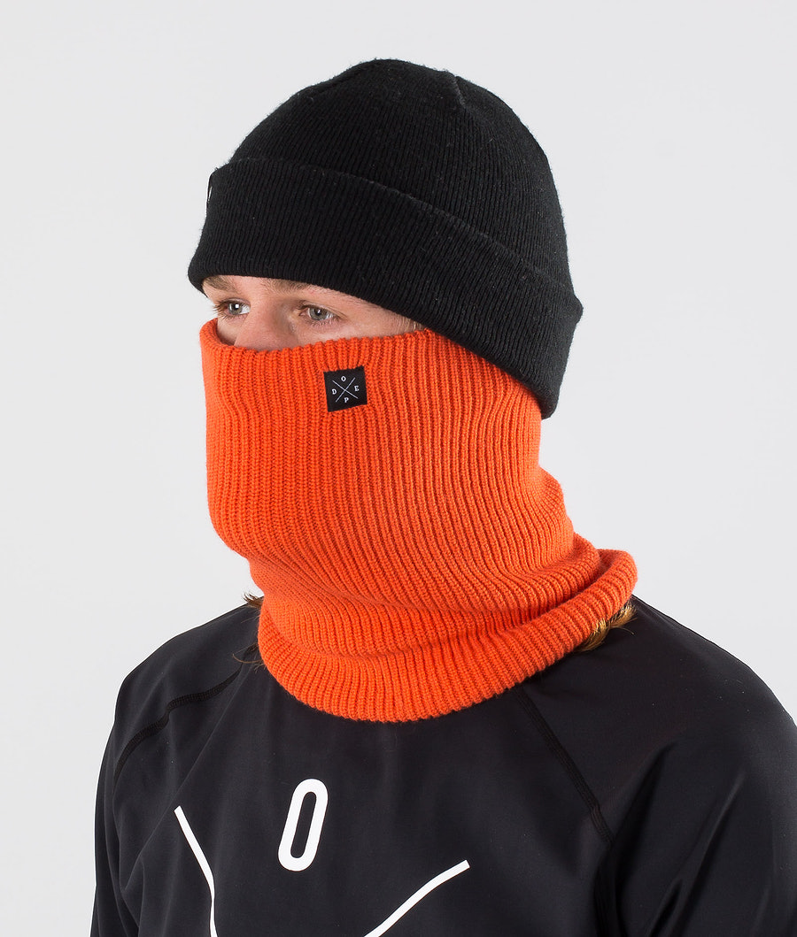 Dope 2X-UP Knitted Ansiktsmask Orange