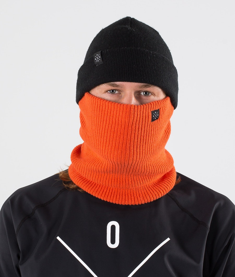Dope 2X-UP Knitted Facemask Orange