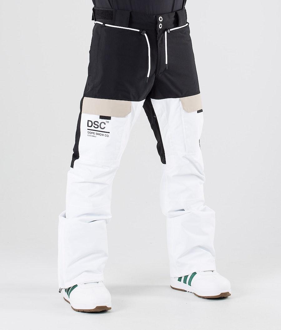 Dope Poise DSC Pantaloni da snowboard Black Sand White
