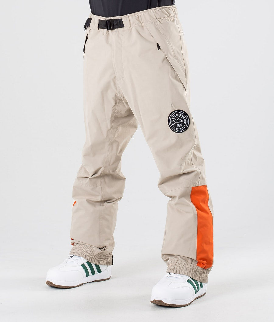 Dope Blizzard LE Snow Pants Sand Orange