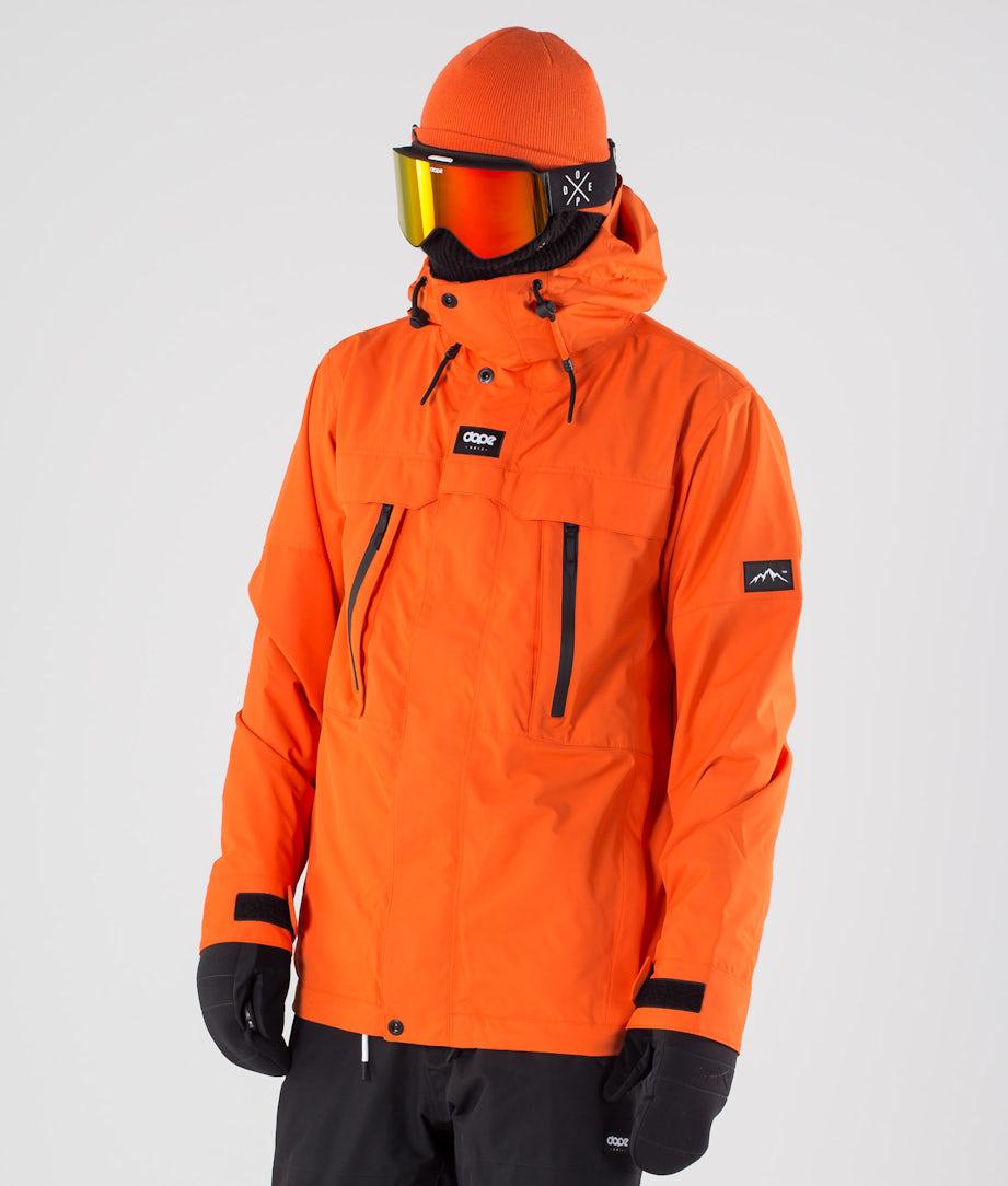 Dope Lunar Snowboard Jacket Orange