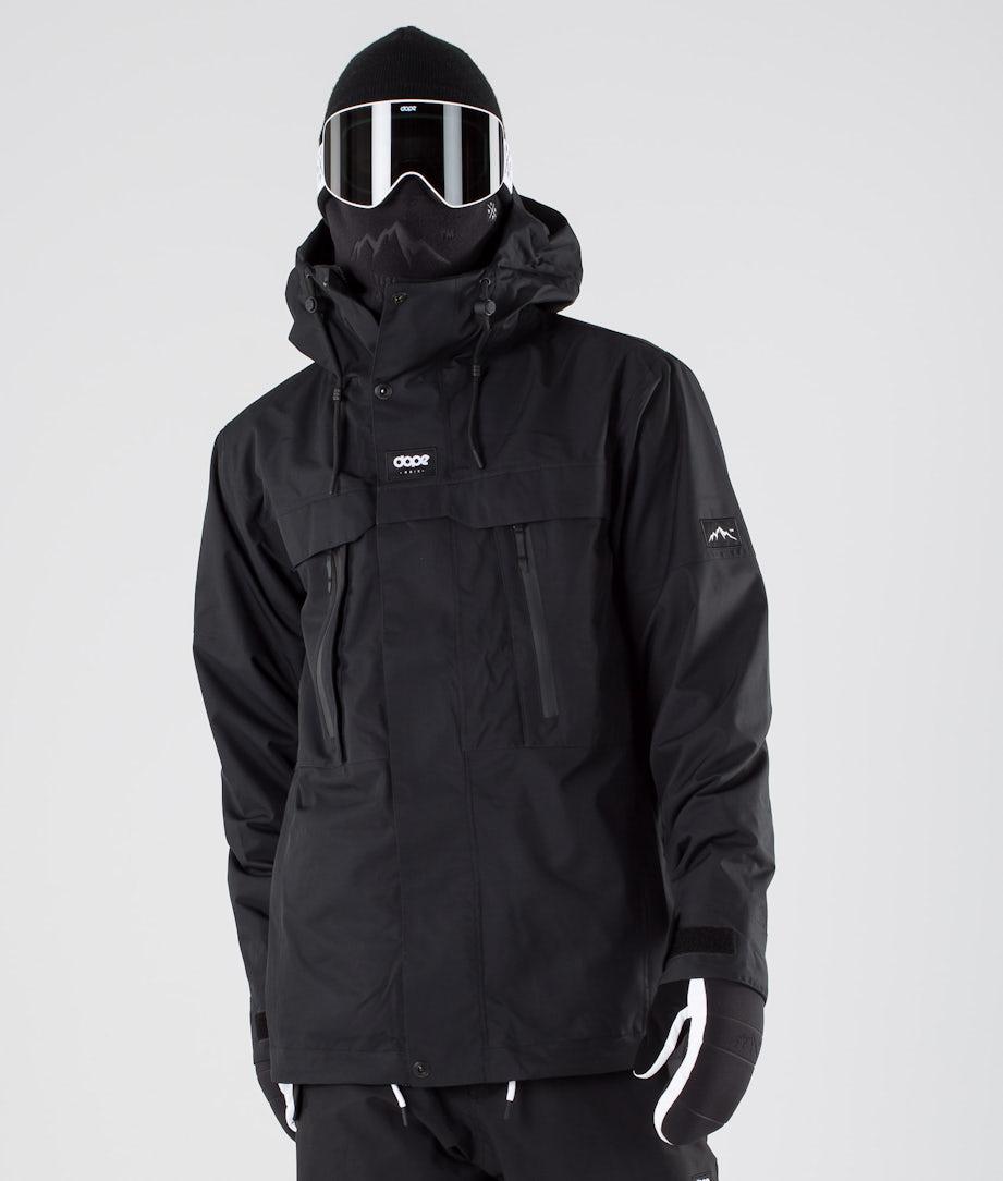 Dope Lunar Snowboard Jacket Black