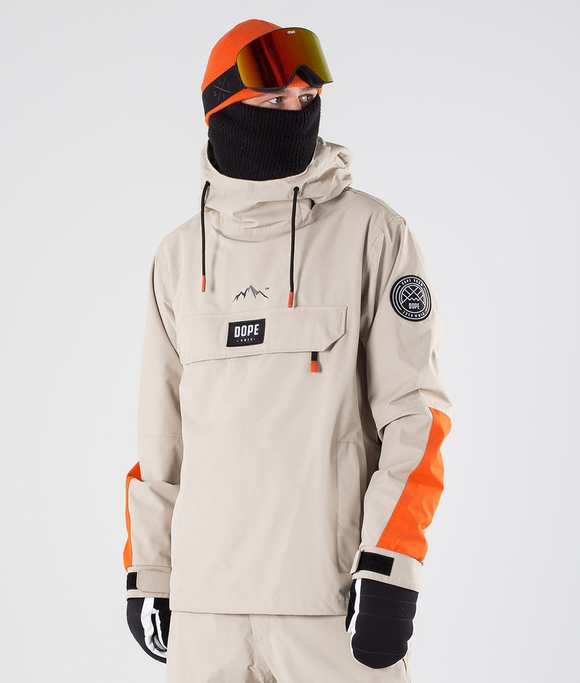 Dope Blizzard LE Snowboard Jacket Sand Orange