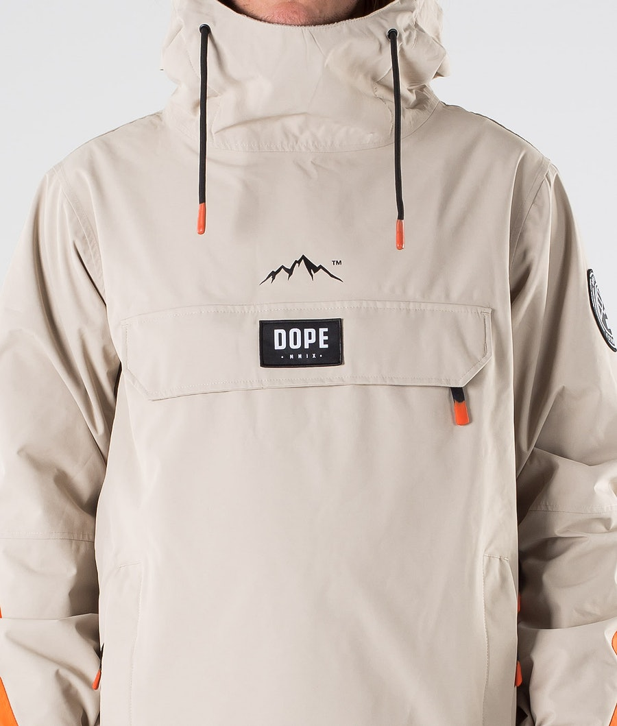 Dope Blizzard LE Snowboard Jacket Sand Orange