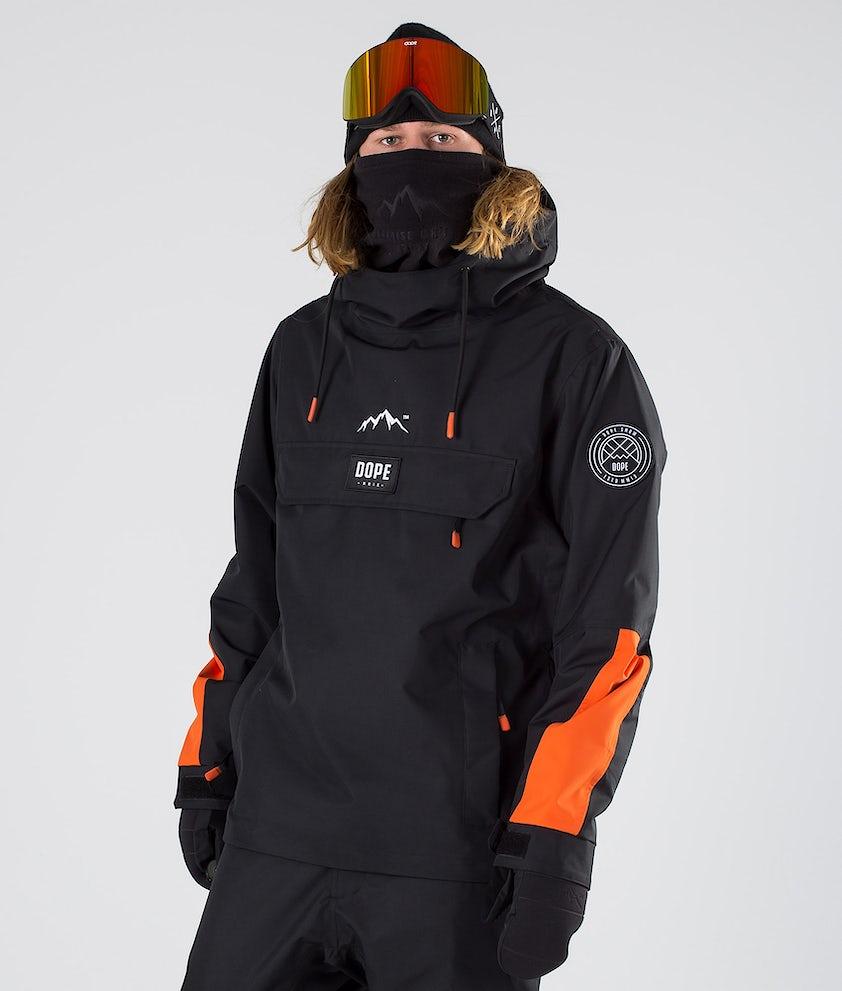 Dope Blizzard LE Snowboardjakke Black Orange