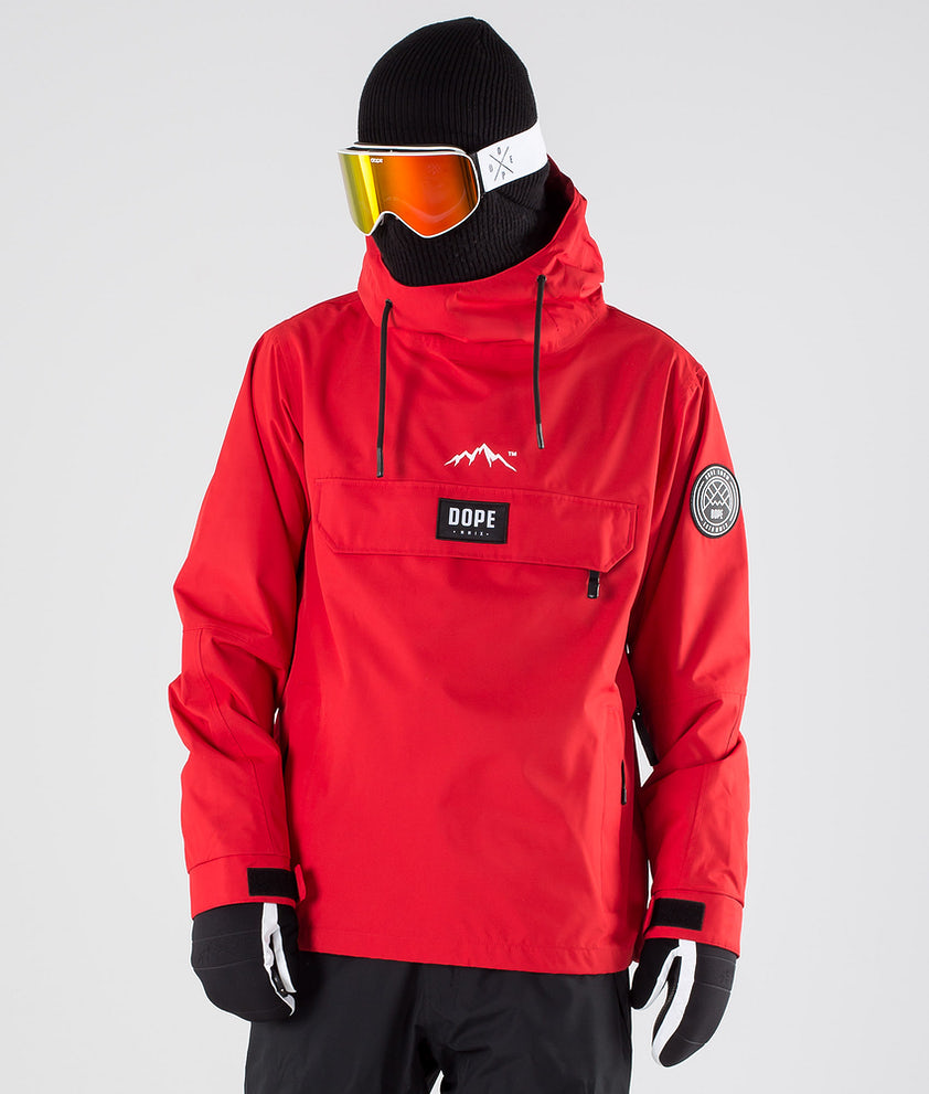 Dope Blizzard LE Snowboardjakke Red