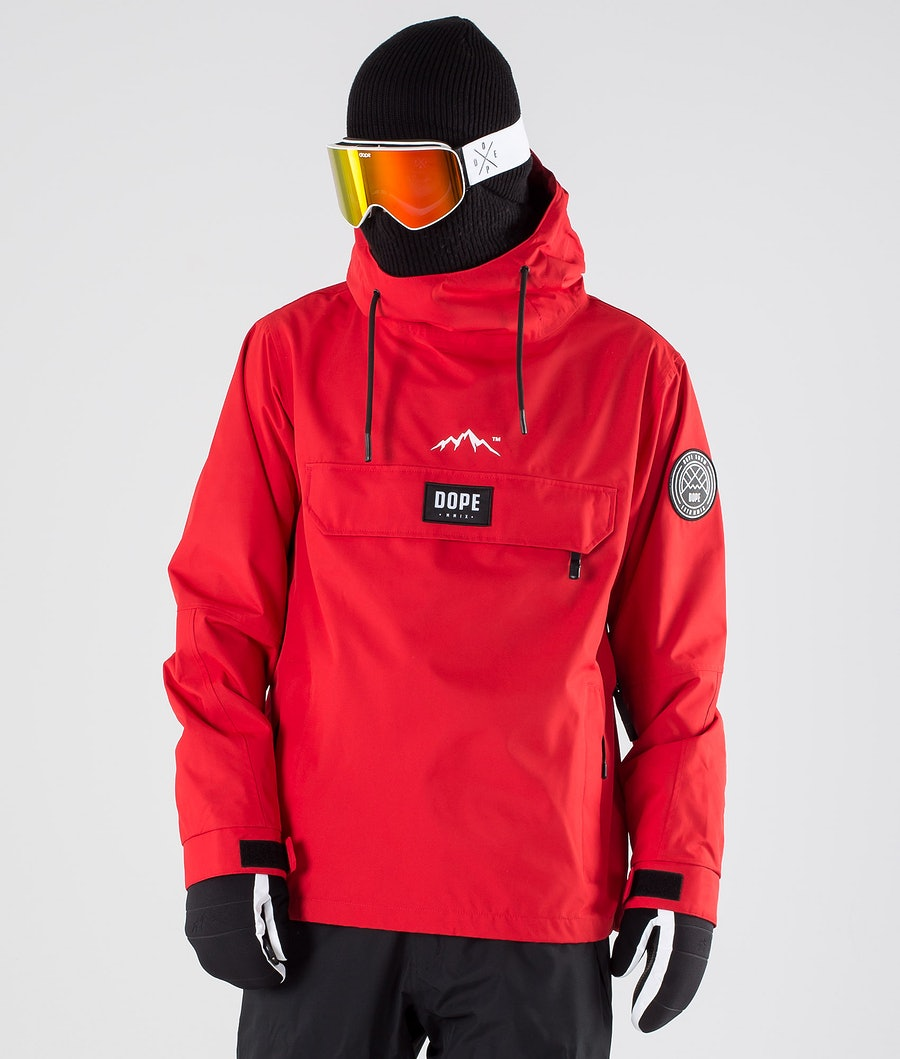 Dope Blizzard LE Snowboard Jacket Red