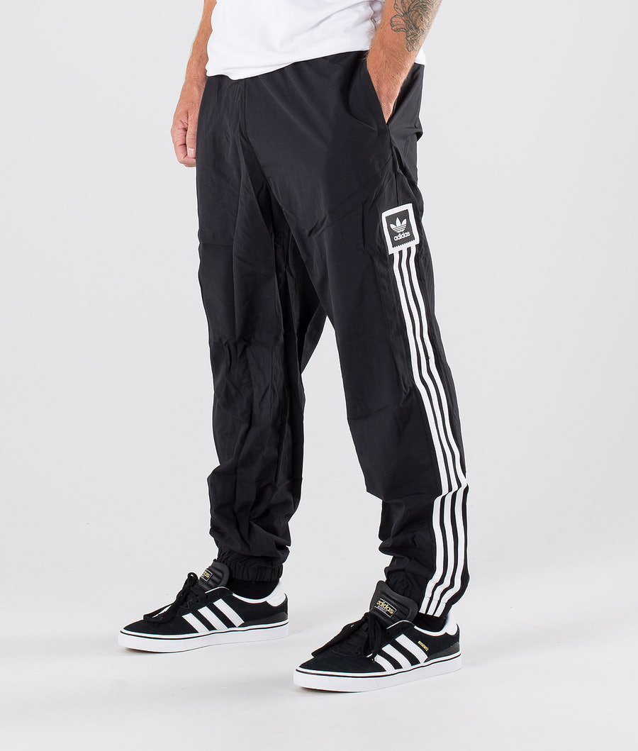 Adidas Skateboarding Standard Wind Pants Black/White