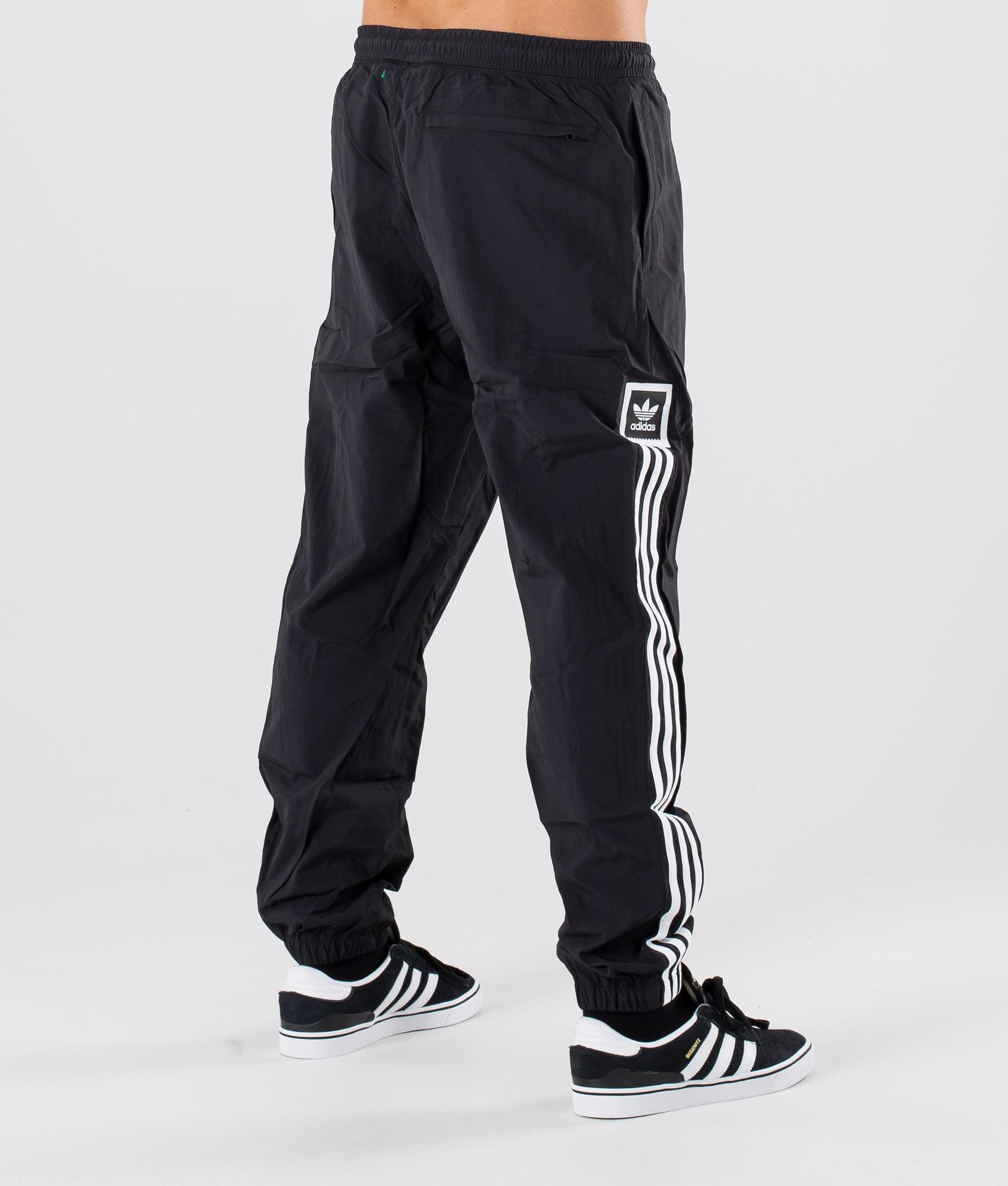 Adidas Skateboarding Standard Wind Pants BlackWhite
