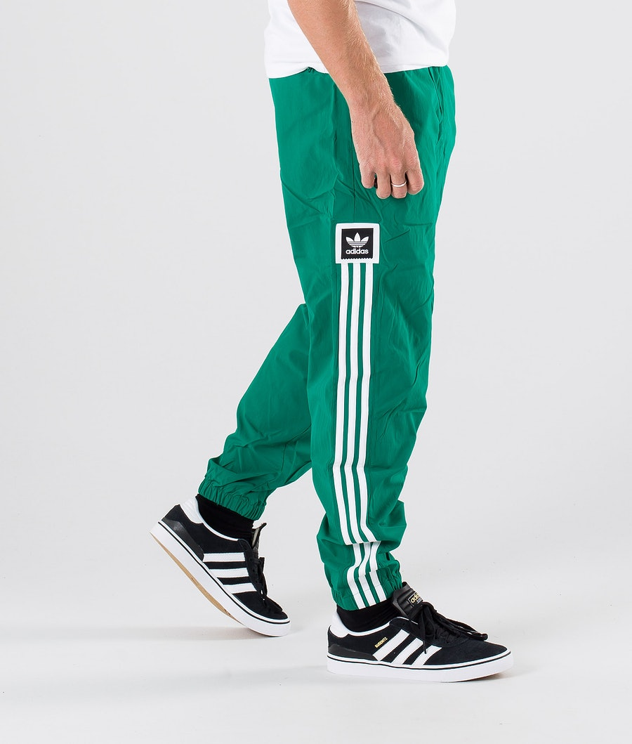 Adidas Skateboarding Standard Wind Byxa Base Green/White