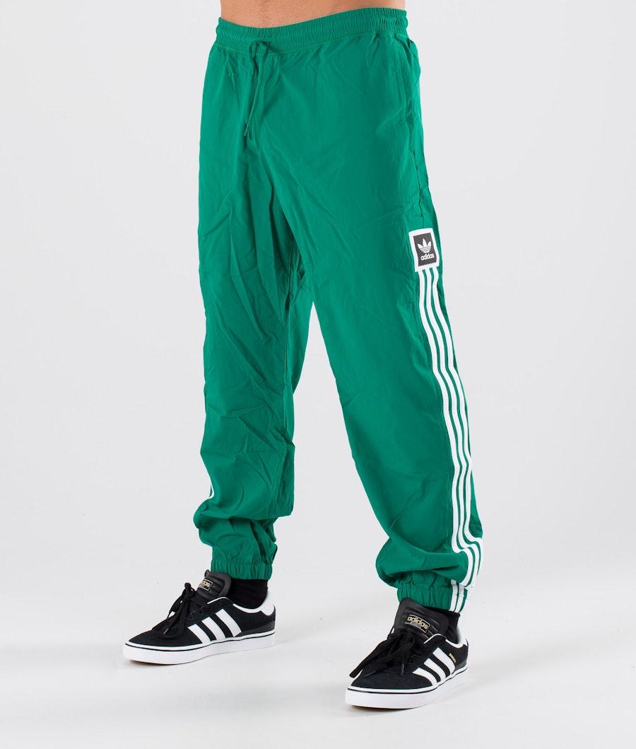 Adidas Skateboarding Standard Wind Bukser Base Green/White