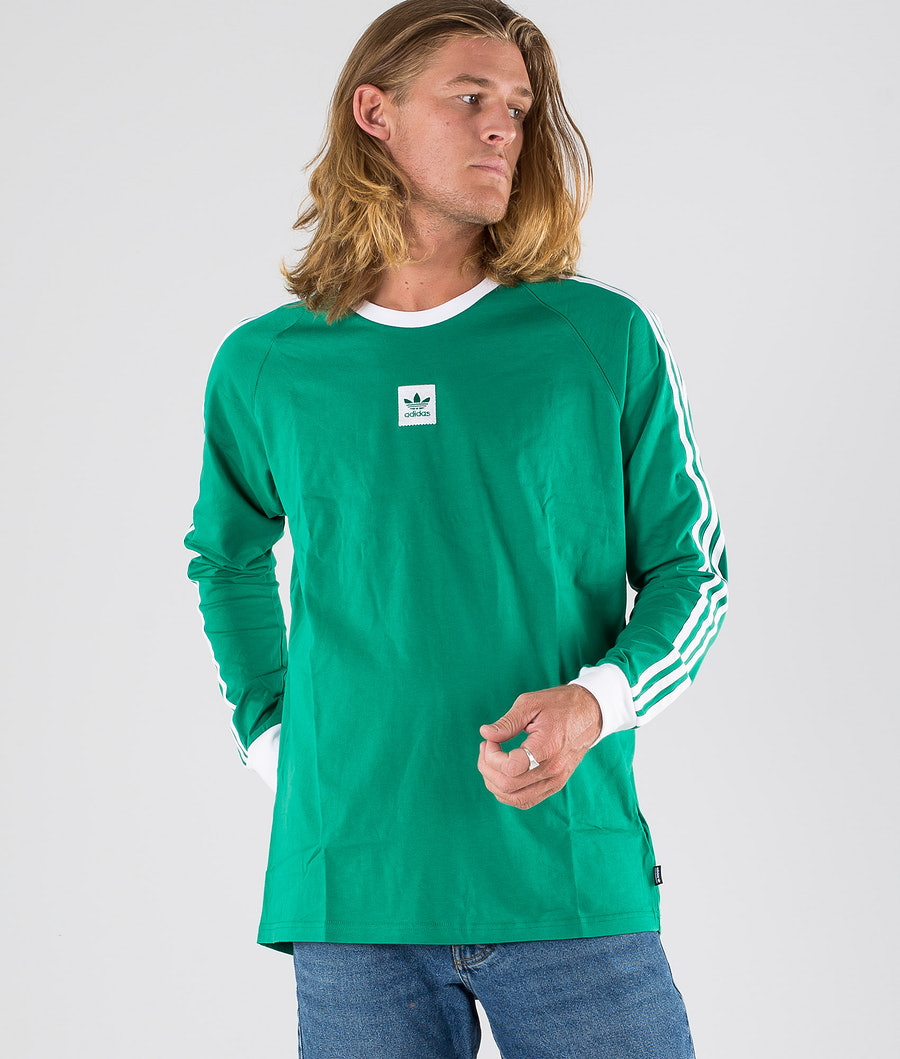 Adidas Skateboarding Ls Cali BB Tee T-shirt Base Green/White
