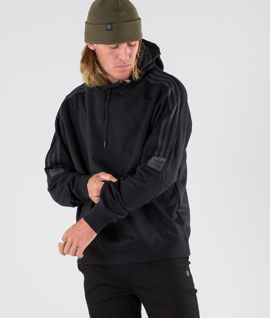 Adidas Skateboarding Tech Hood Black/Carbon