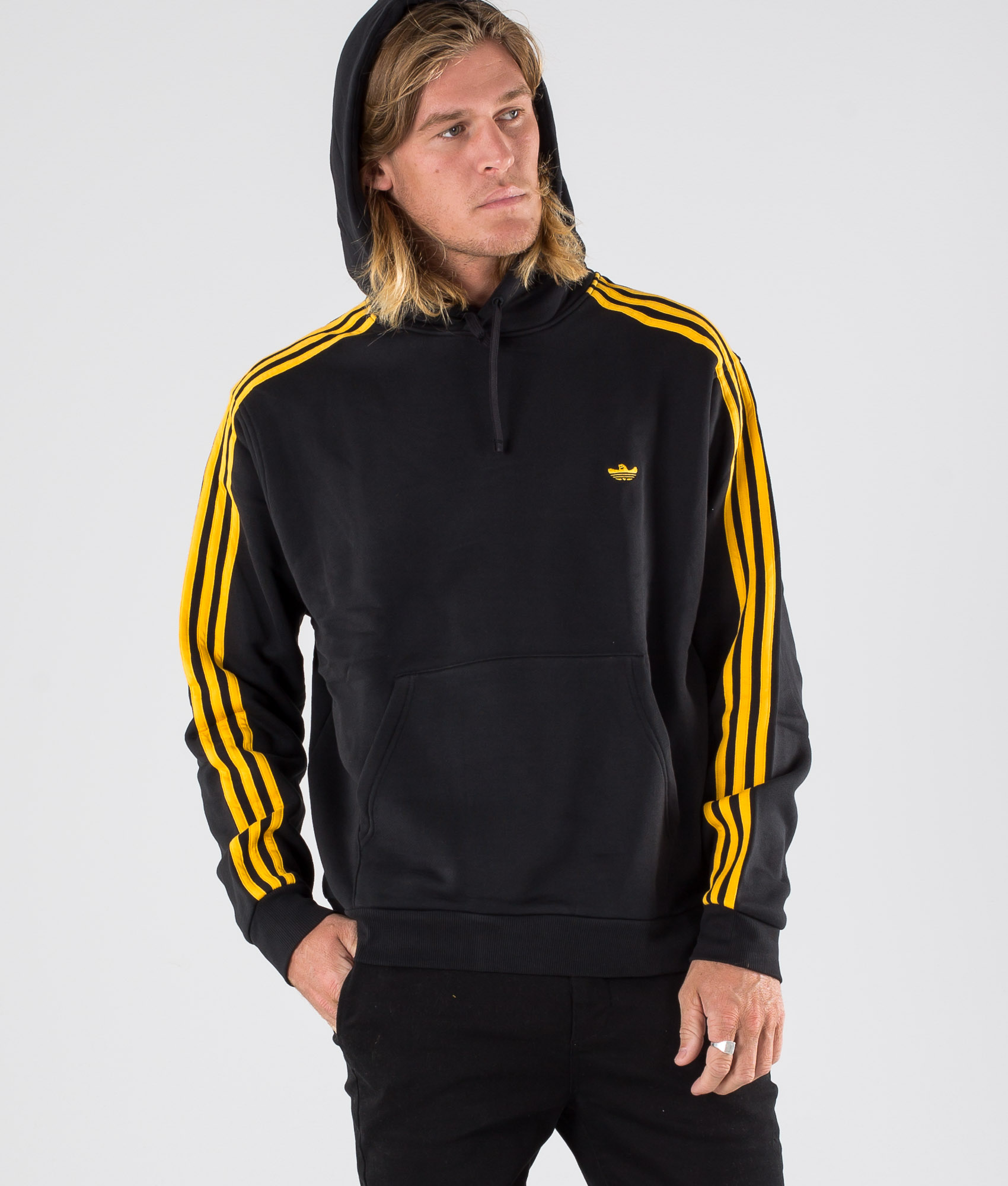 Adidas Skateboarding Mini Shmoo Hd Hoodie BlackActive Gold
