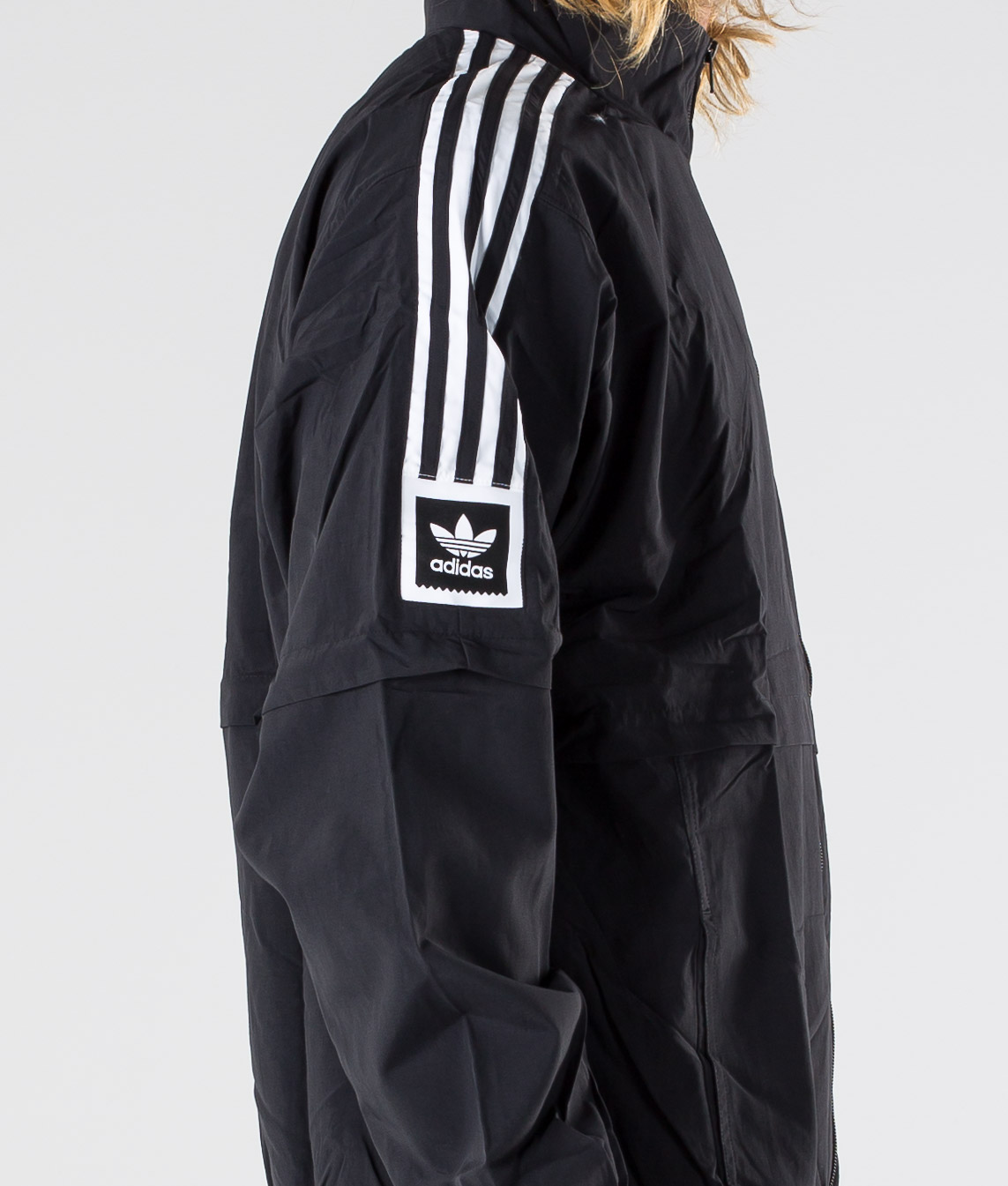adidas Skateboarding Standard 20 Jacket Black | ZUPPORT