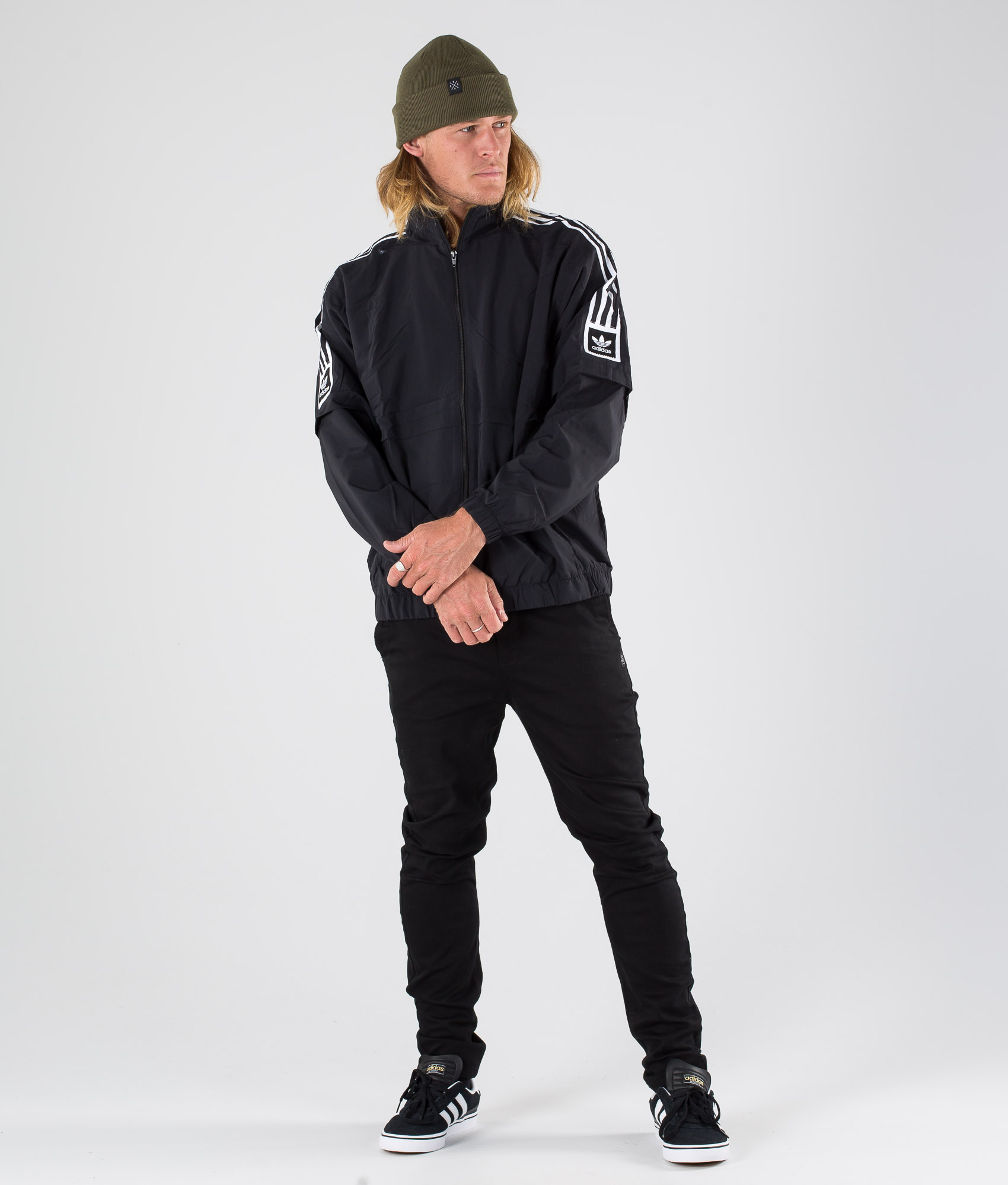 Adidas Skateboarding Standard 20 Veste BlackWhite