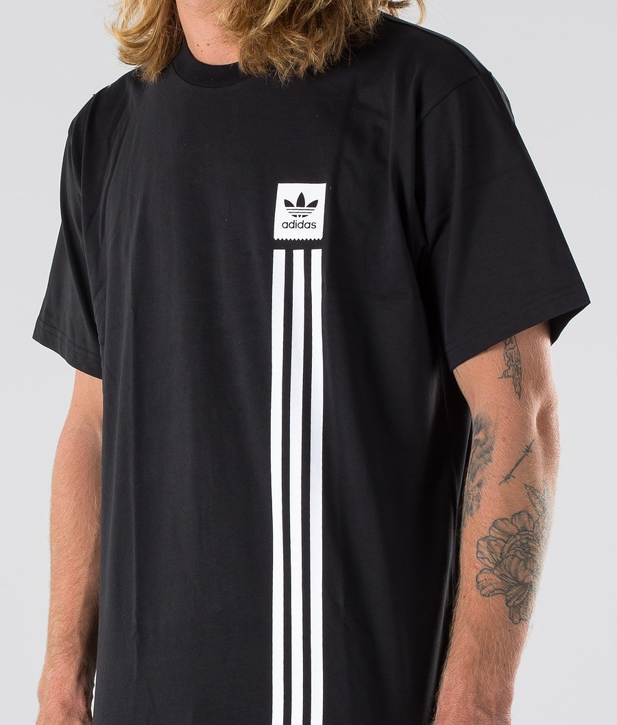 Adidas Skateboarding BB Pillar Tee T-shirt Black/White