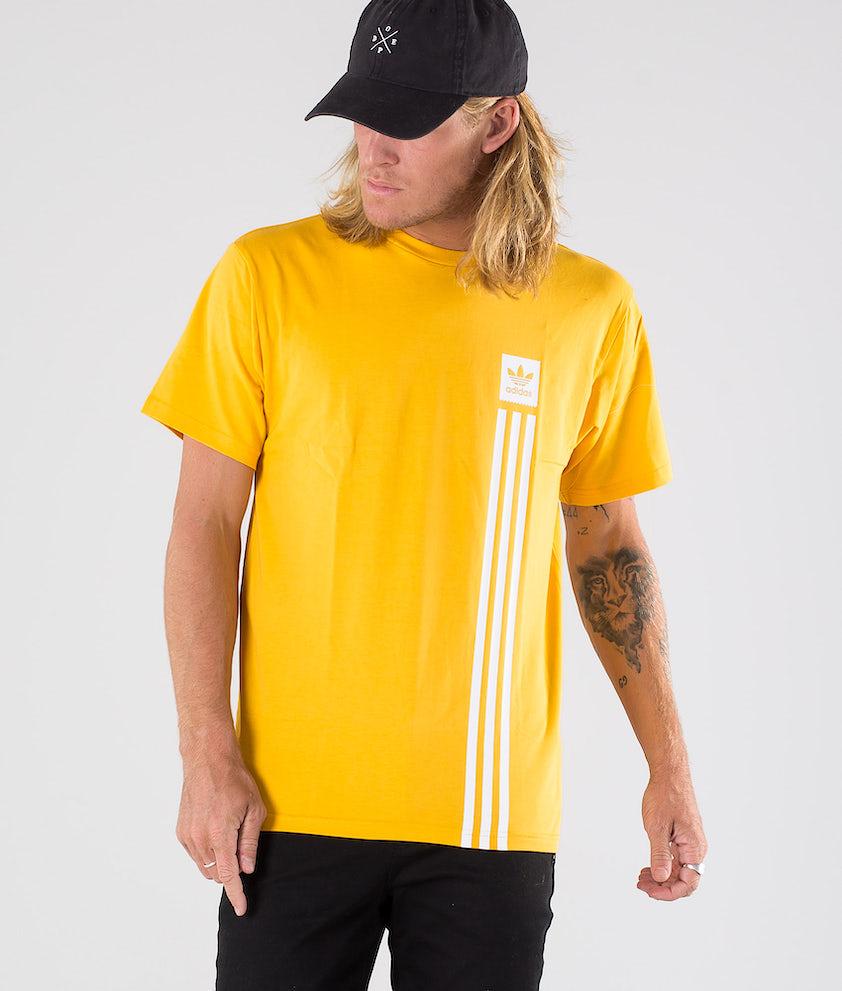 Adidas Skateboarding BB Pillar Tee T-shirt Active Gold/White