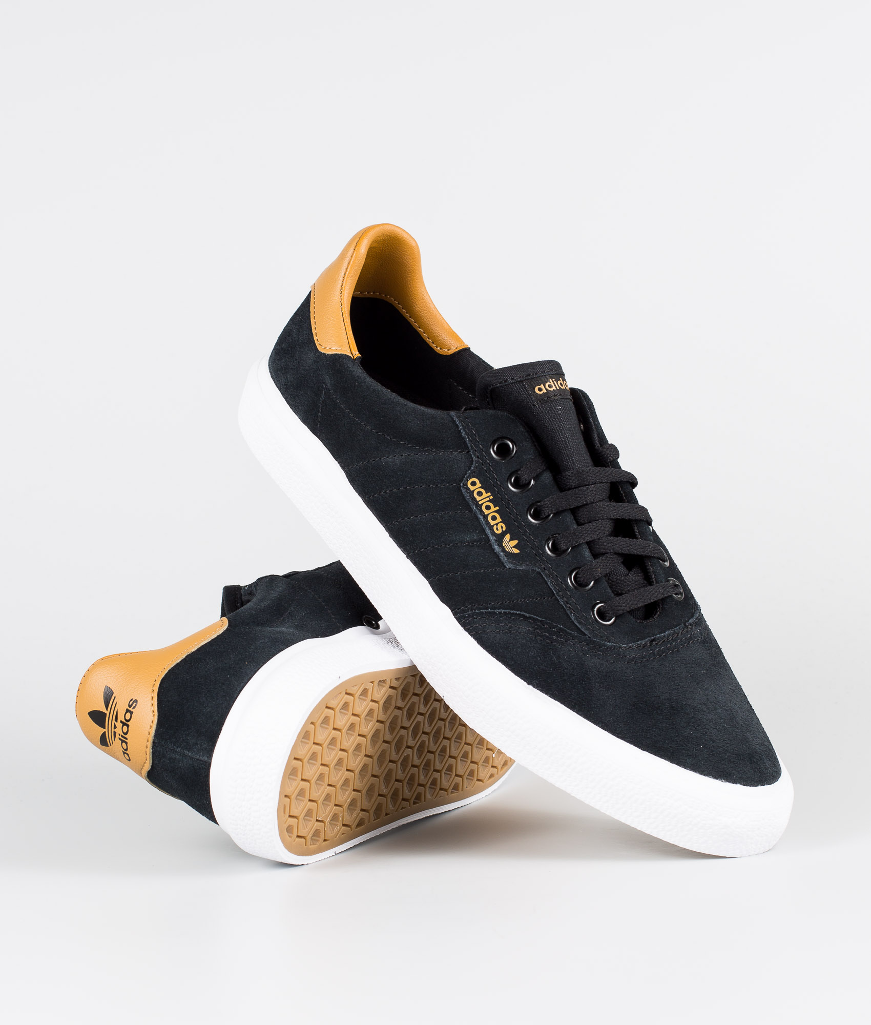 Adidas Skateboarding 3mc Chaussures Core BlackMesaFtwr White