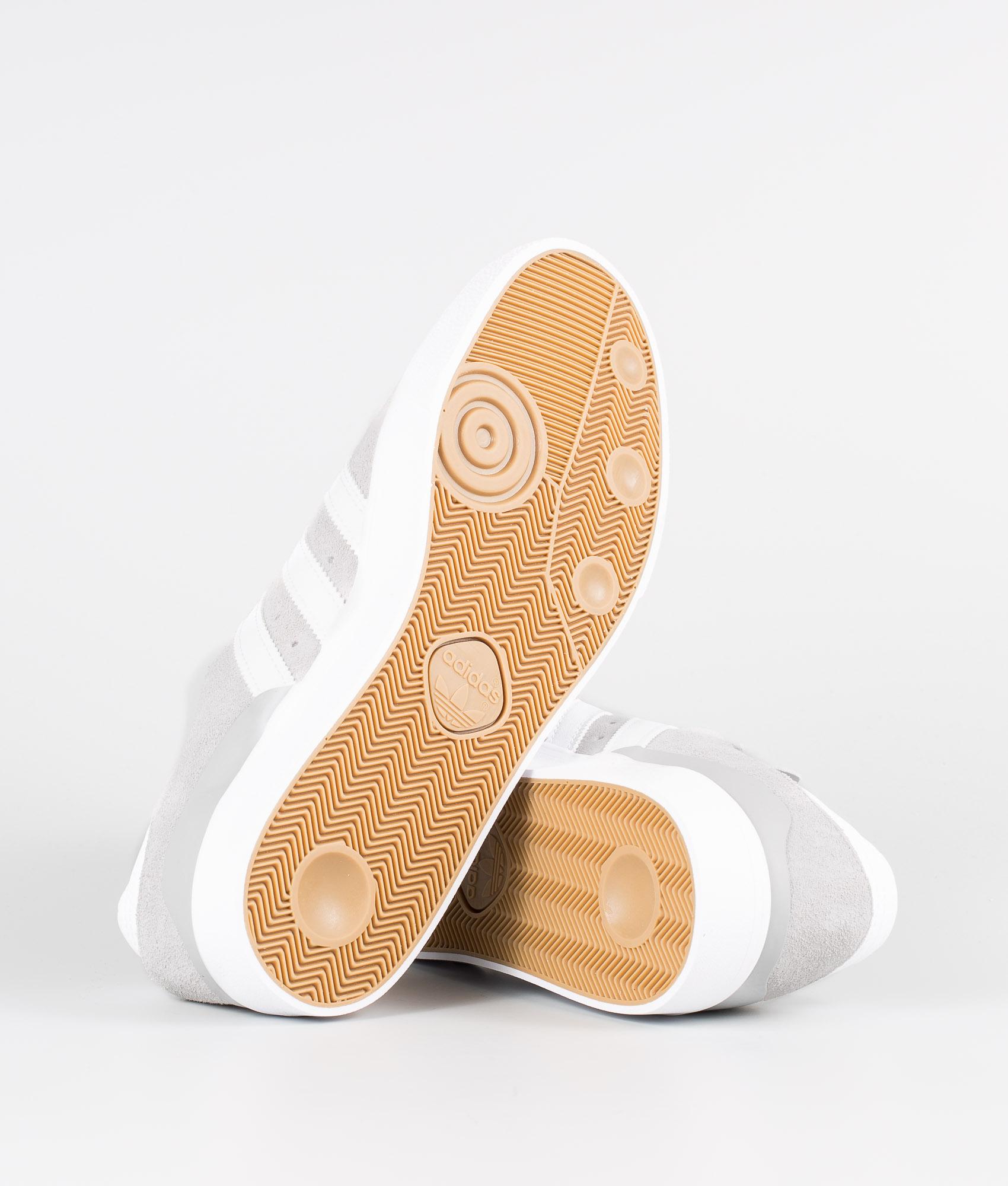 Adidas Skateboarding Busenitz Vulc Skor Grey Two F17Ftwr WhiteGold Met.