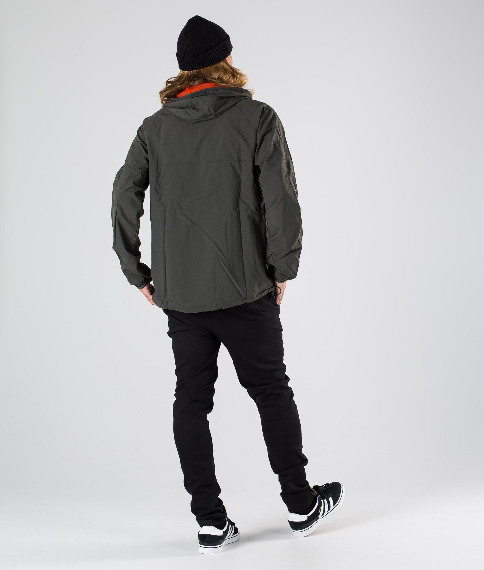 Adidas Skateboarding Dekum Packable Wind Jacke Legend EarthActive Orange