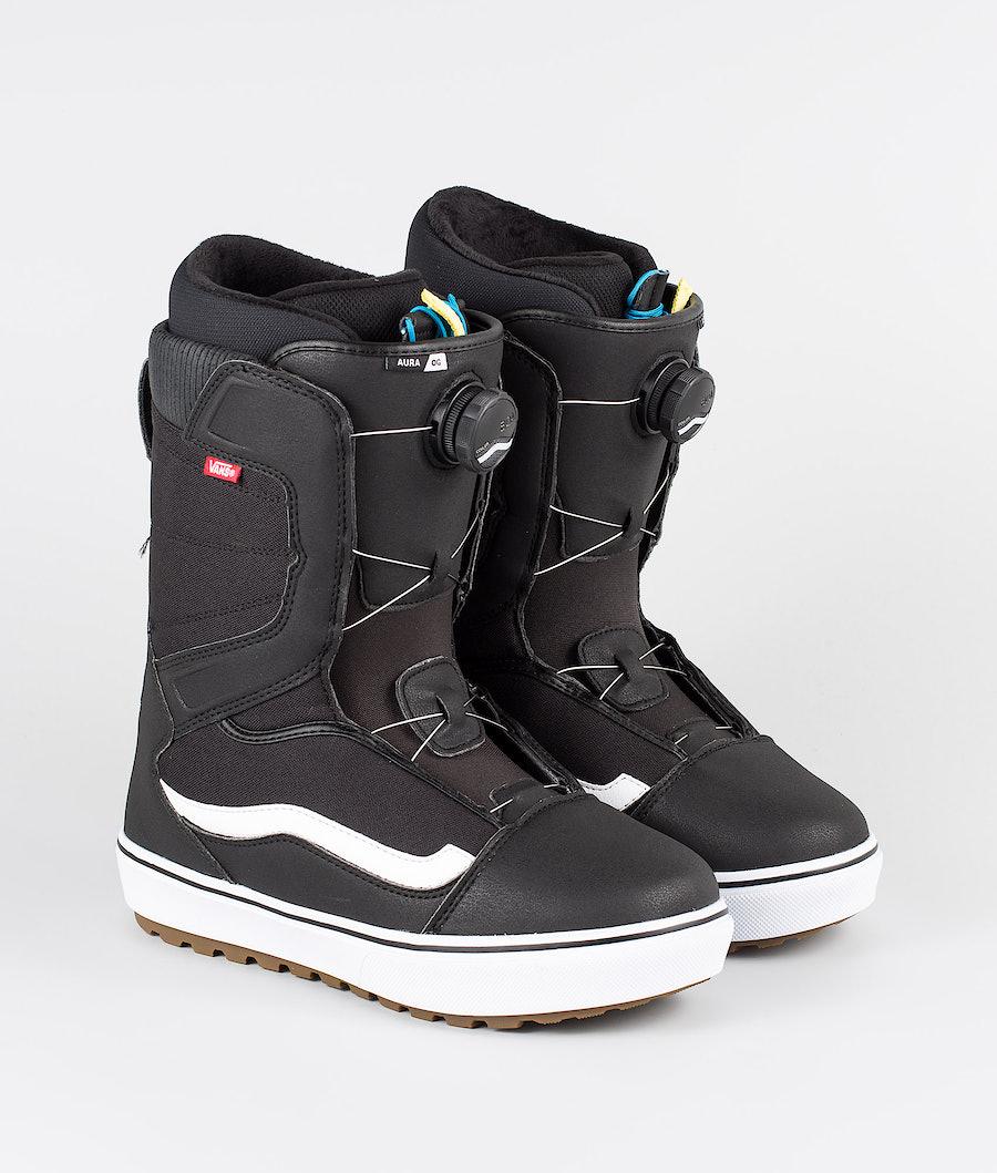 Vans Aura OG Boots Black/White 19