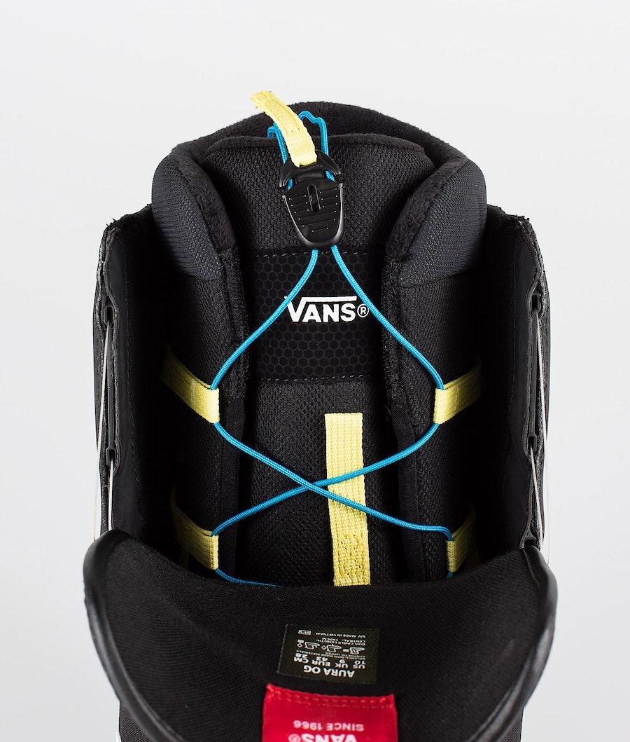 Vans Aura OG Snowboardboots Black/White 19