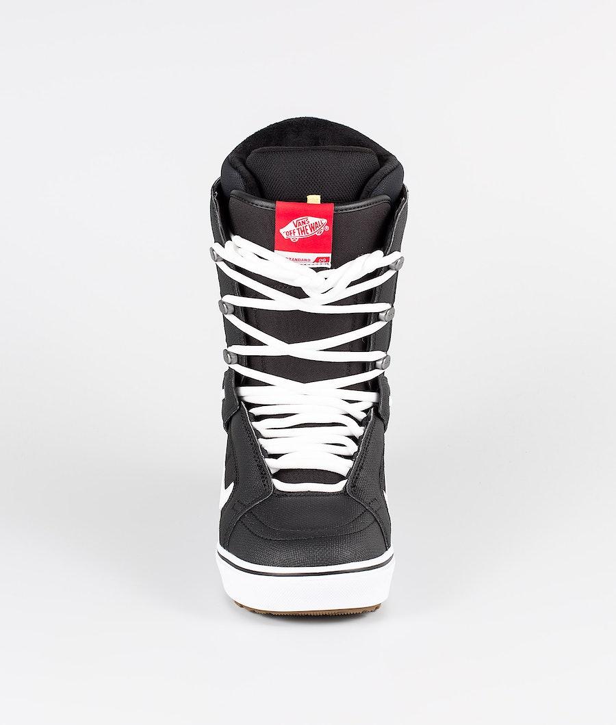 Vans Hi-Standard OG Snowboard Boots Black/White 19
