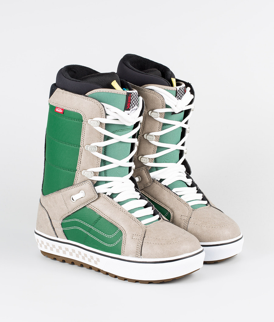 Vans Hi-Standard OG Snowboard Boots (Jake Kuzyk) Green/Khaki