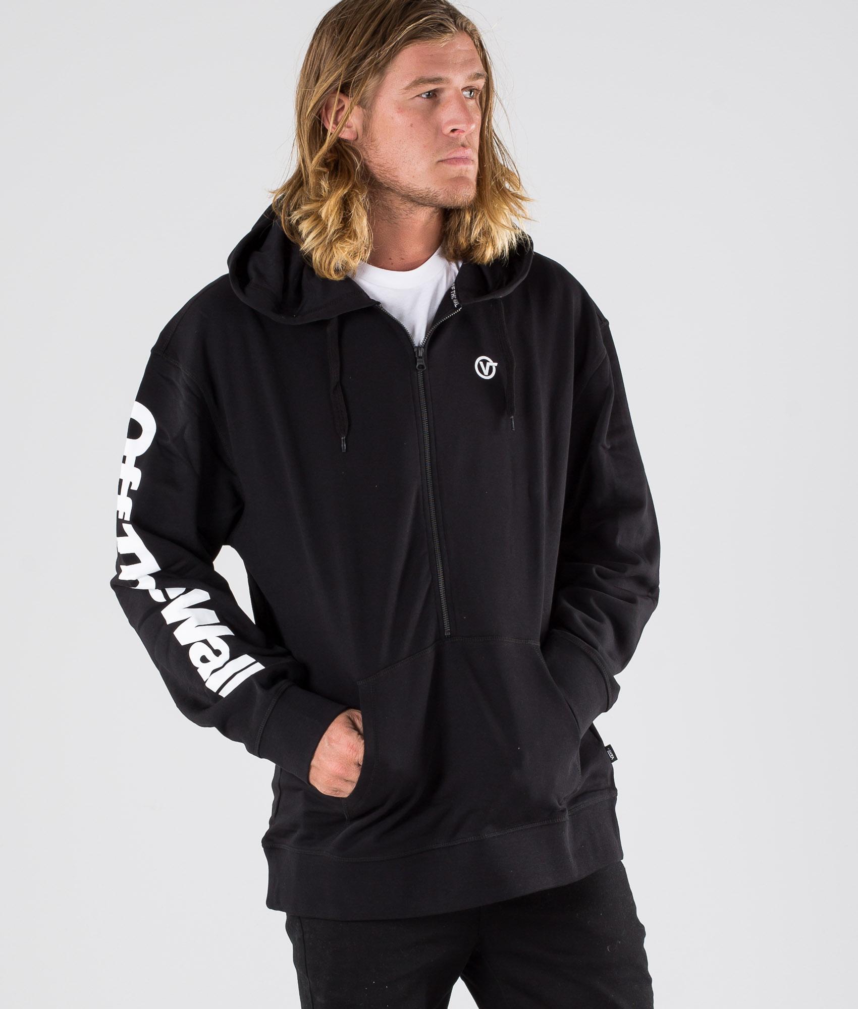 Full zip hoodie oversize