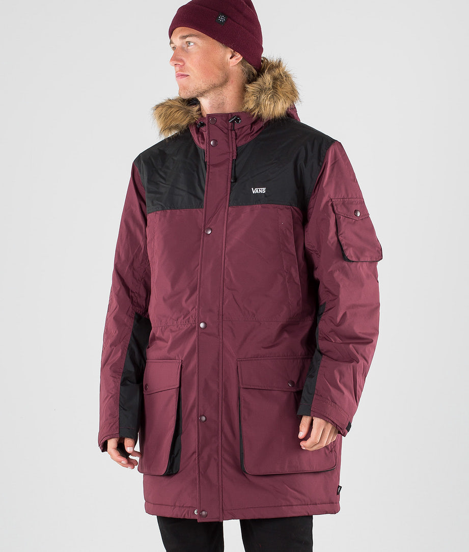 Vans Sholes MTE Jacke Port Royale/Black