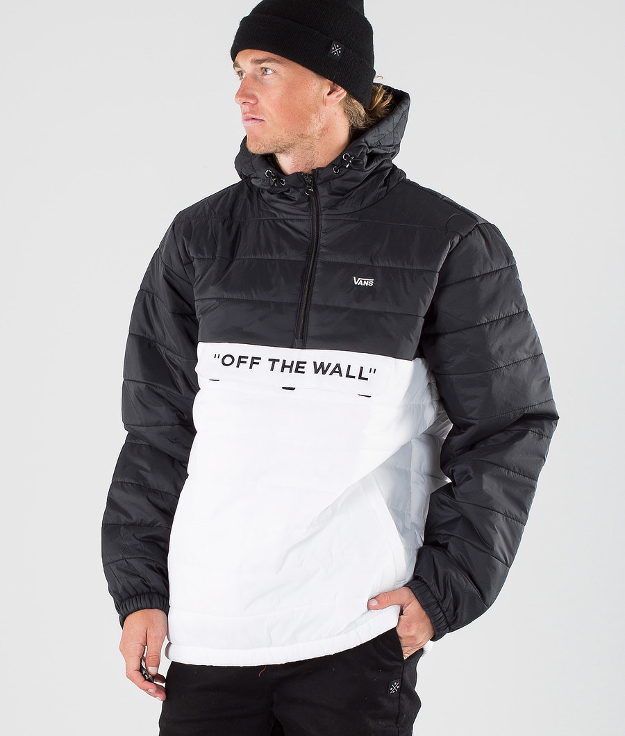 Vans Carlon Anorak Puffer Jacket White/Black