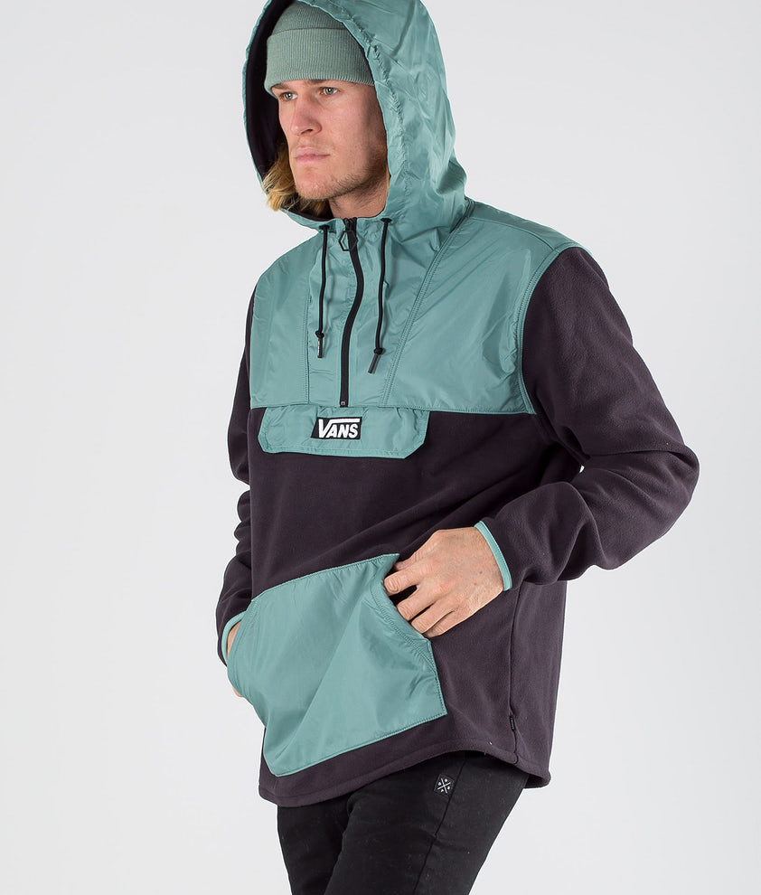 Vans Windward Anorak Jakke Black/Oil Blue