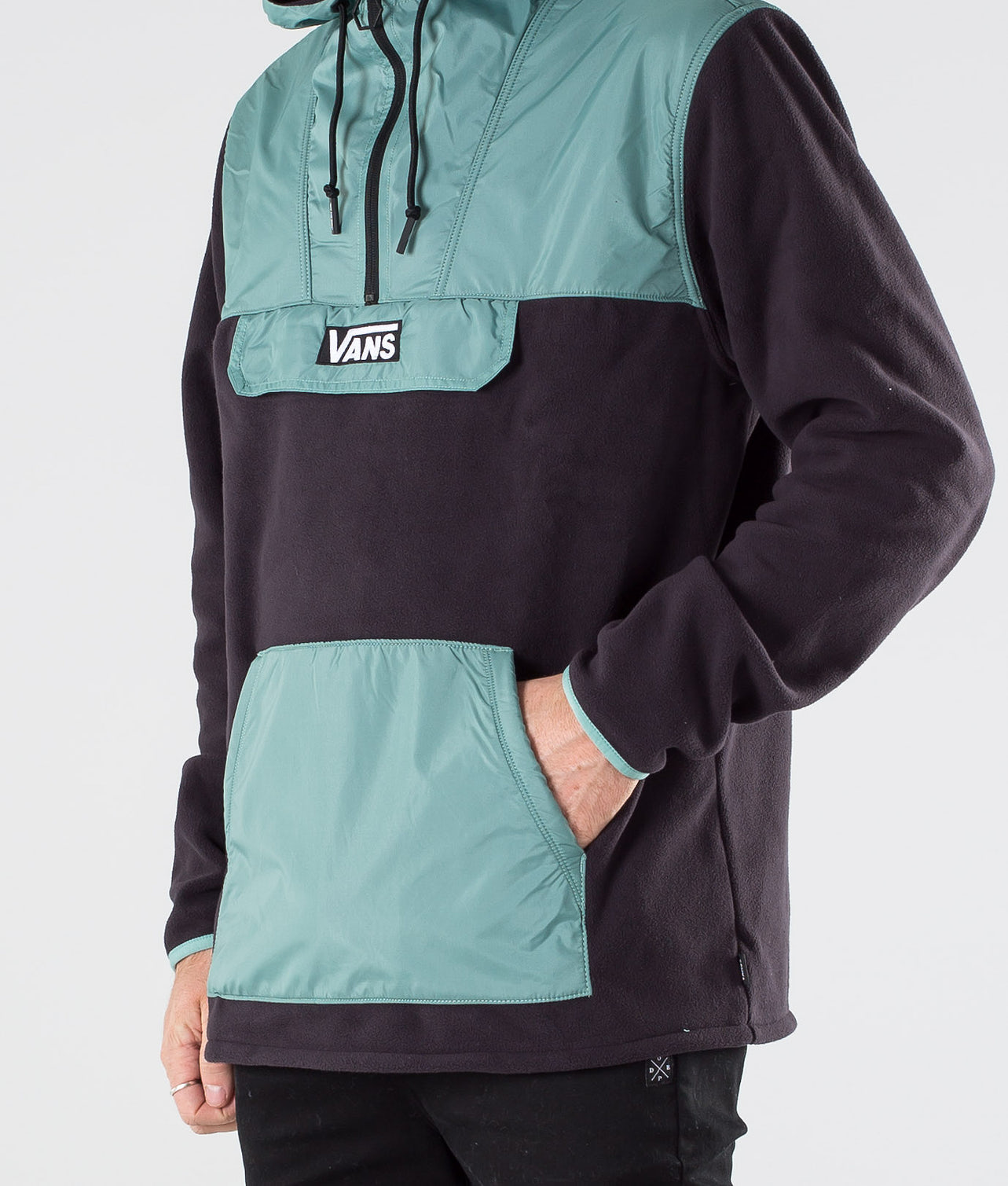 Vans Windward Anorak Jacka Black/Oil Blue