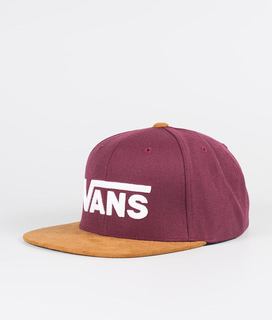Vans Drop V II Snapback Caps Prune/Khaki