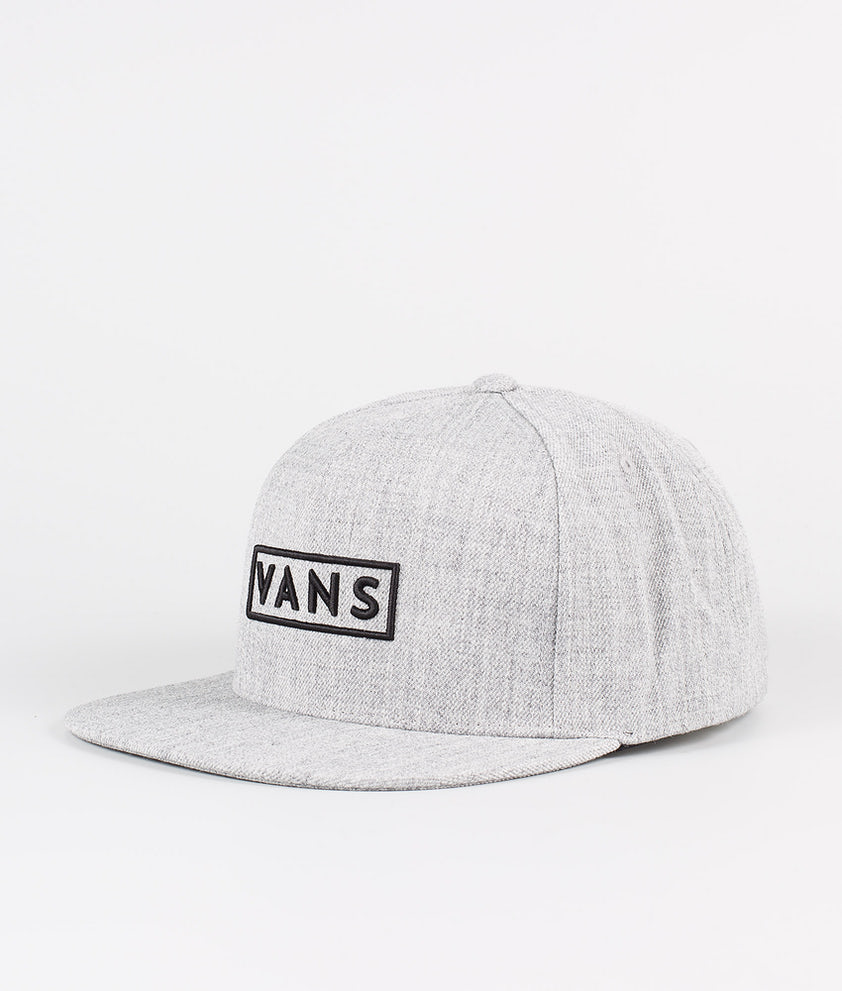Vans Easy Box Snapback Casquette Heather Grey