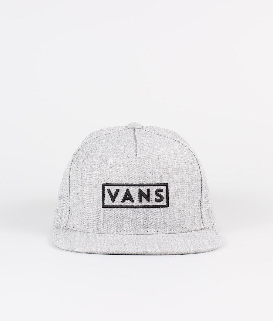 Vans Eeasy Box Snapback Caps Heather Grey