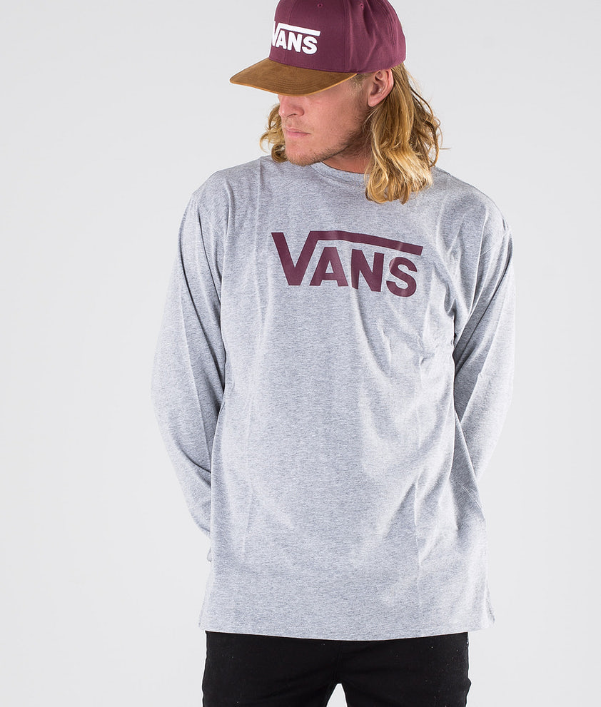Vans Vans Classic Longsleeve Athletic Heather/Prune