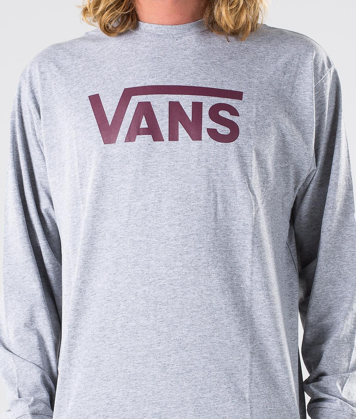 Vans Vans Classic Longsleeve Athletic Heather/Prune