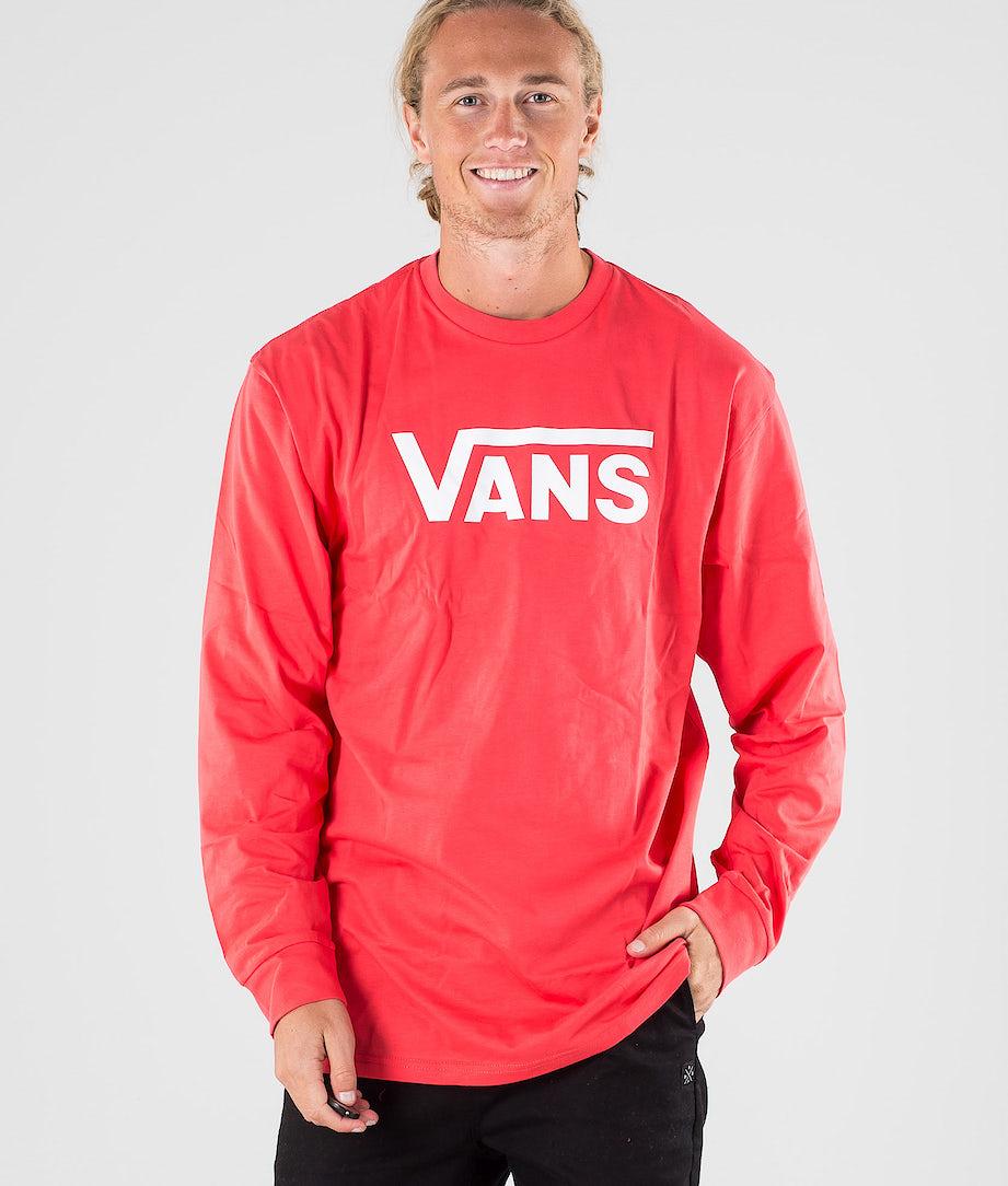 Vans Vans Classic Longsleeve Hibiscus/White