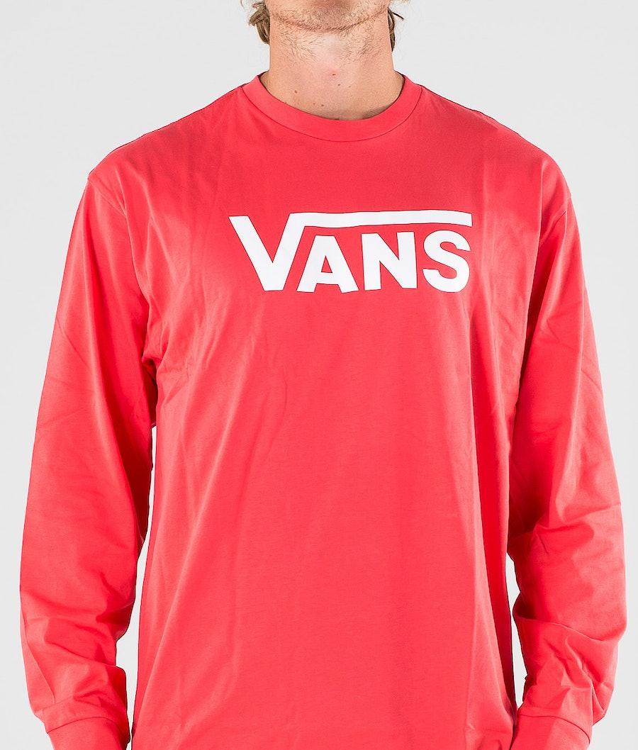 Vans Classic Longsleeve Hibiscus/White